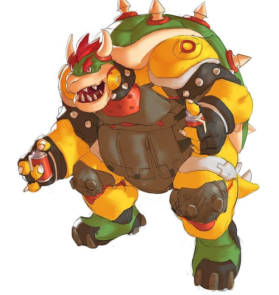 Bowser #gameover I've added a few more Shooter/Bomb stuff because I love this