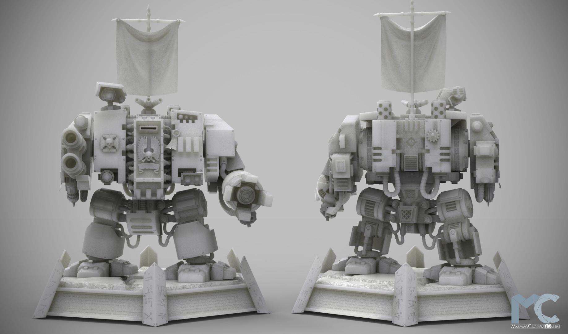 Front & rear view (Keyshot 6).