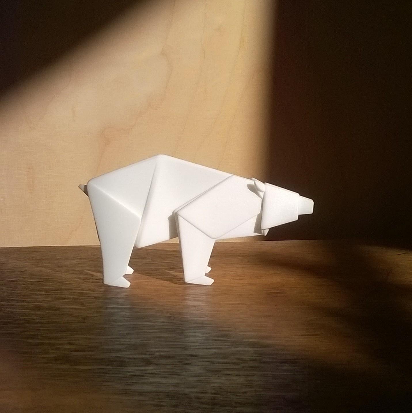Origabear, 3D Print.