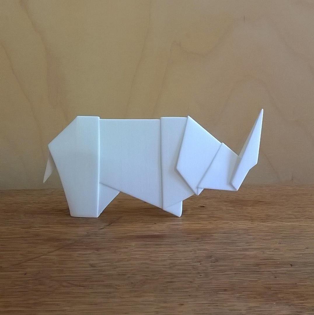 Rhinogami, 3D Print.