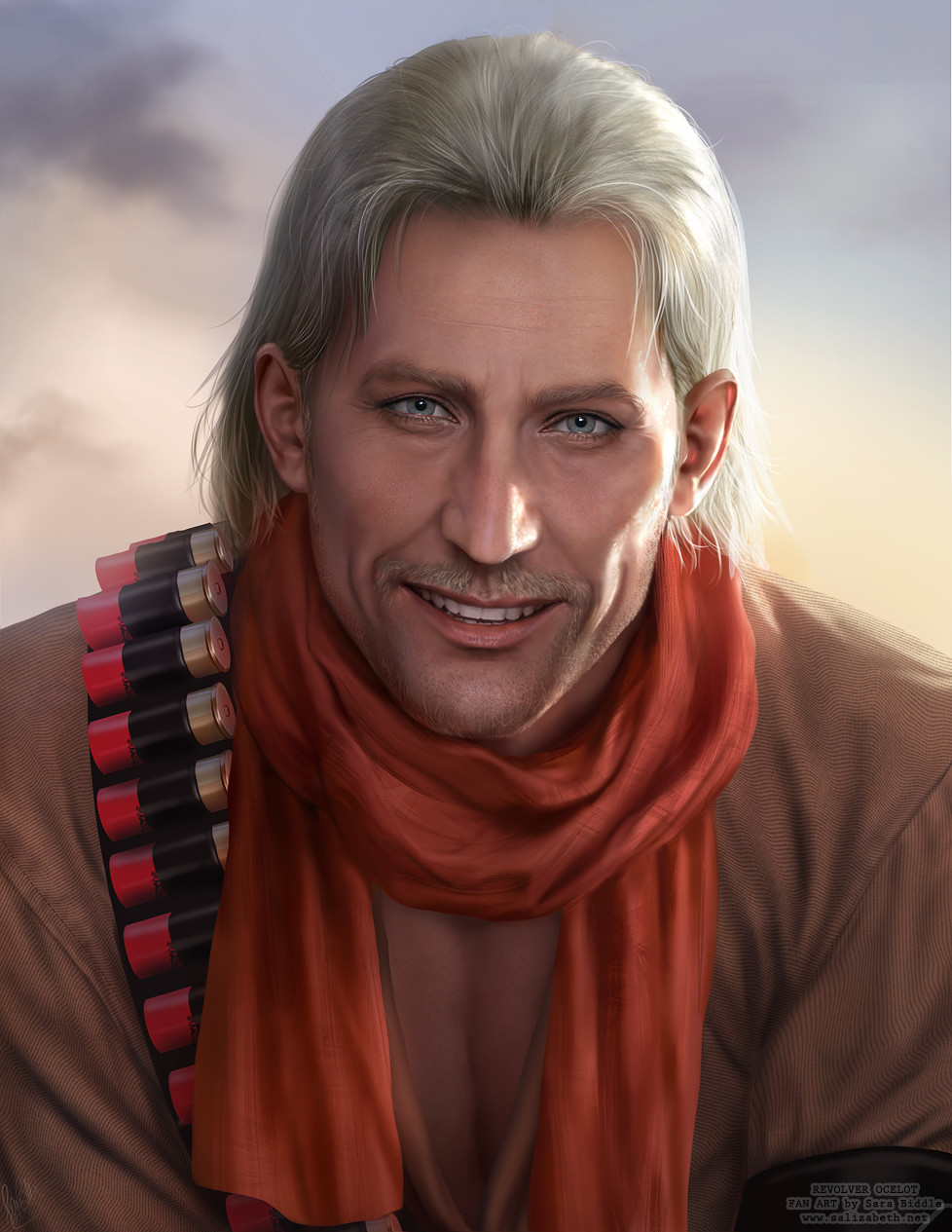Fan Art: Revolver Ocelot