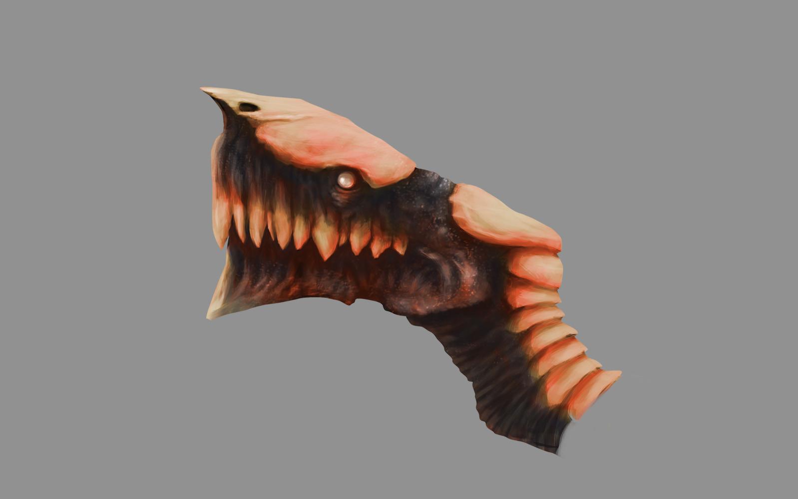 Black red bone dragon