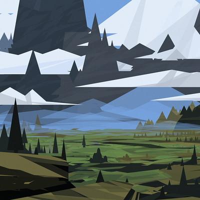 Daniel schmelling minimalistic landscape