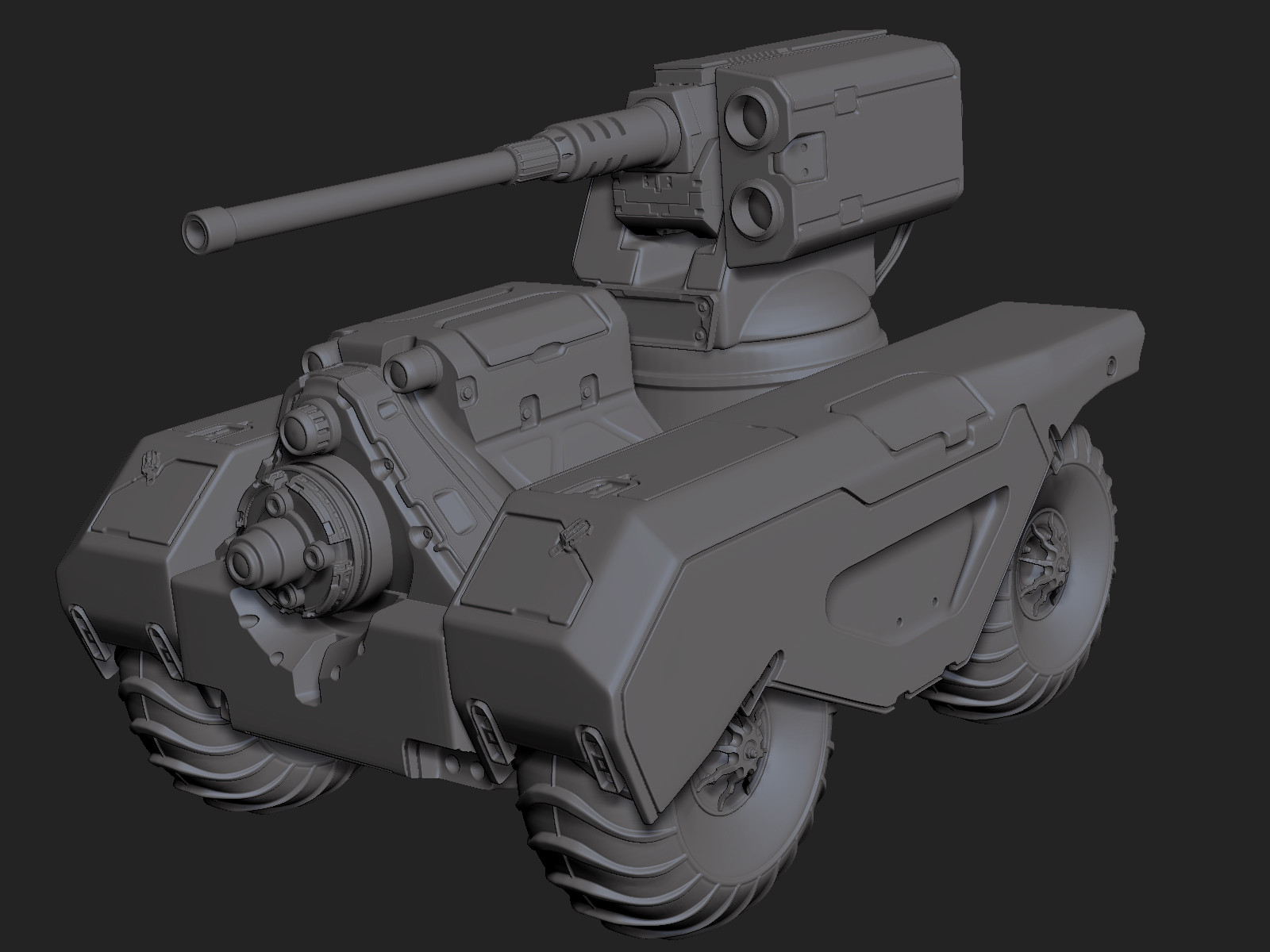 Zbrush Beta 4R8 Rover ZB Screen