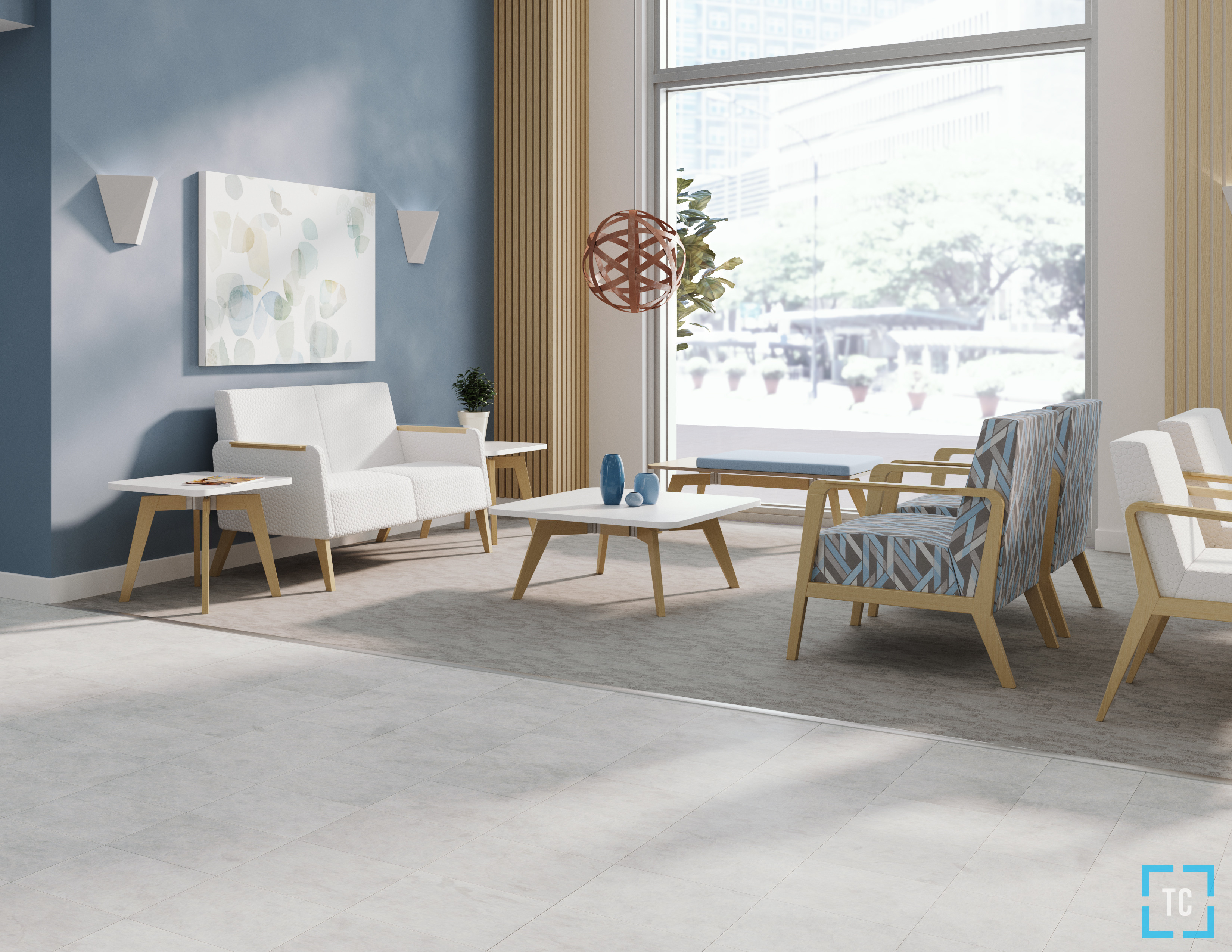 Staging, Materials, Lighting, Rendering, and Post