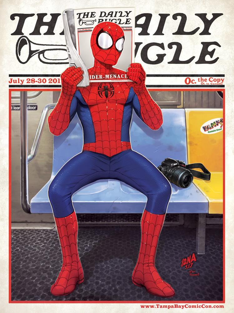 David nakayama spiderman tampabay 1000v