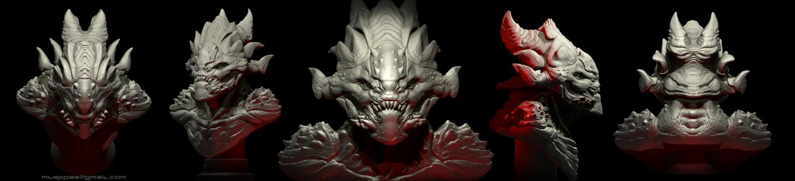 Alien 3d concept design
