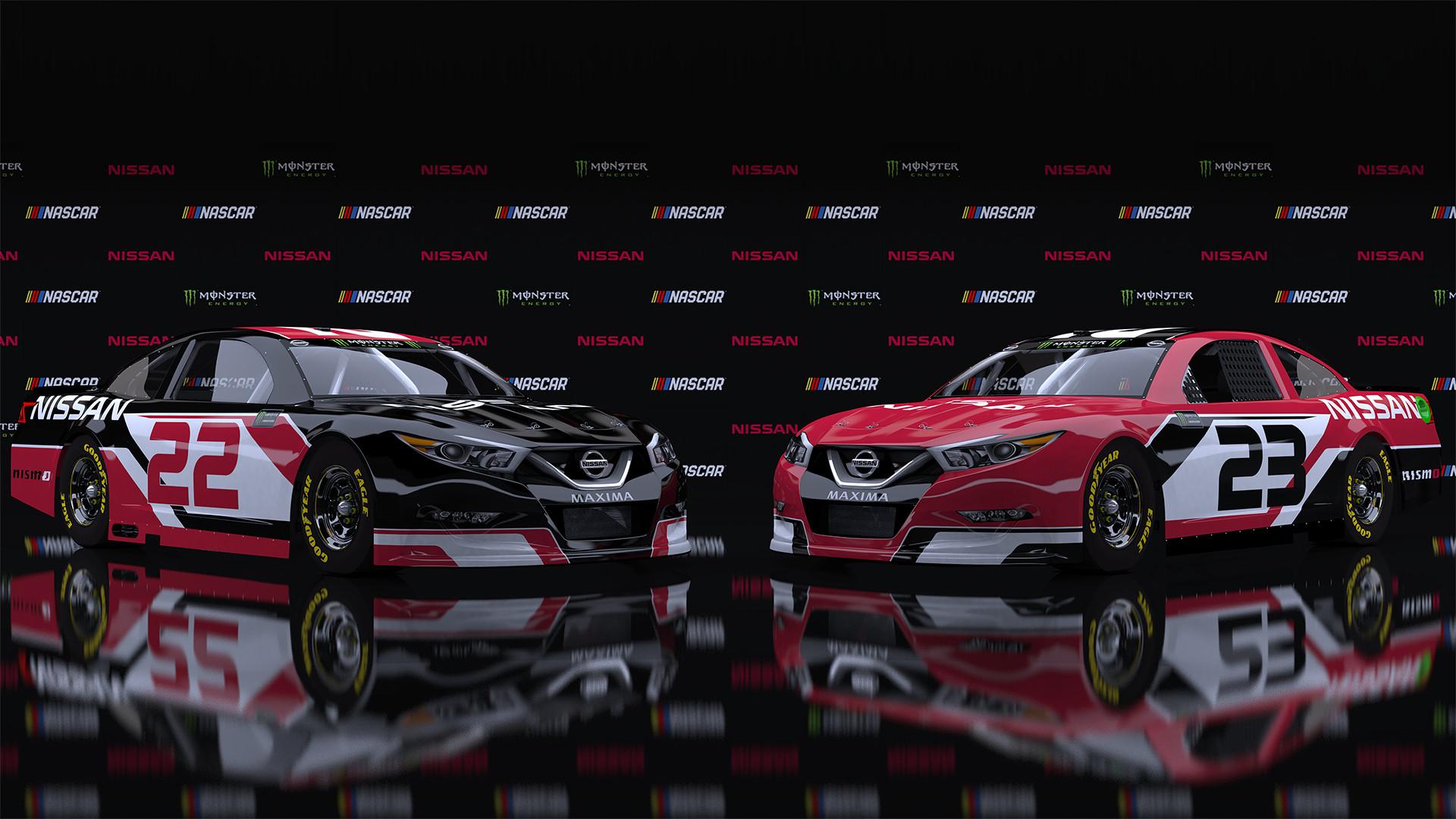 ArtStation - NASCAR Cup Series Nissan Maxima, Brandon Murphy