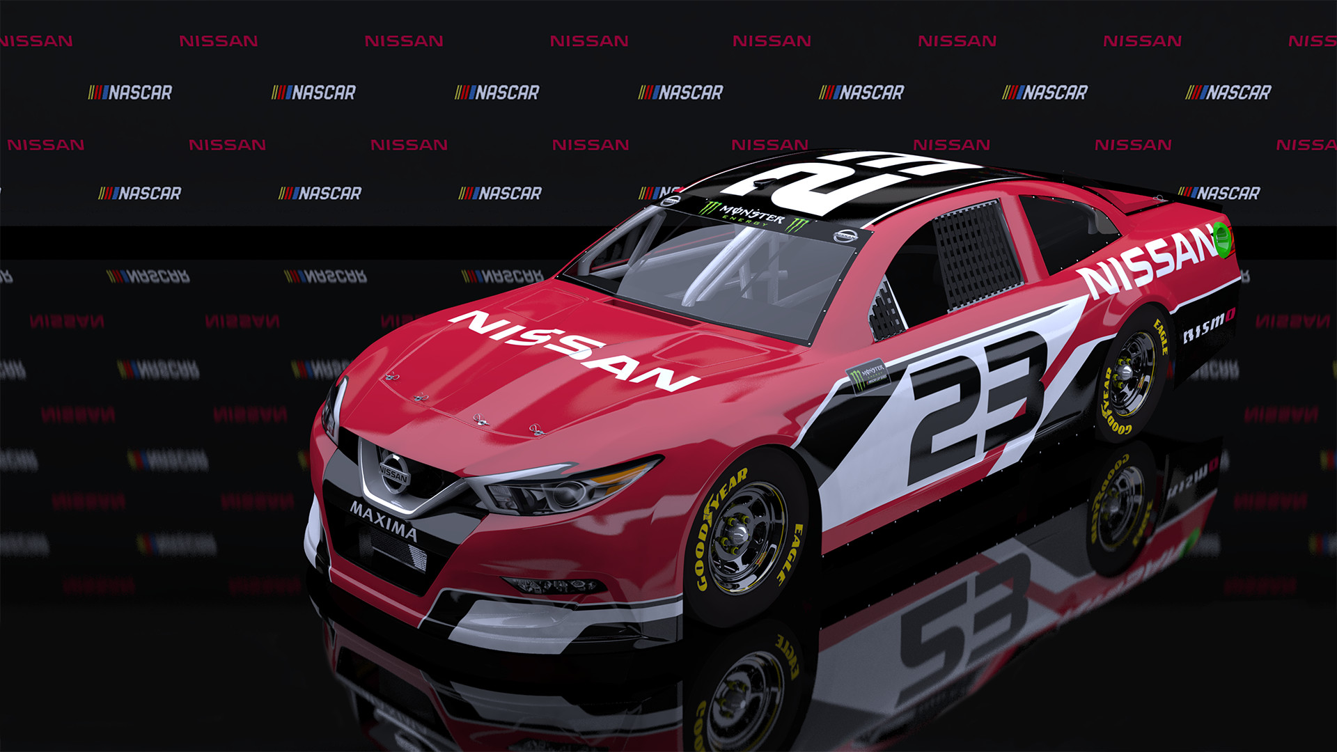 I Was Looking At Pictures Of Fantasy Manufacturers For Nascar And Love This Nissan Design