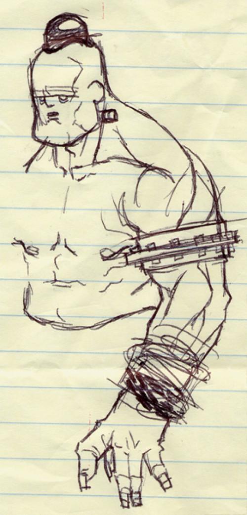 T d chiu 20 monstrosity sketch