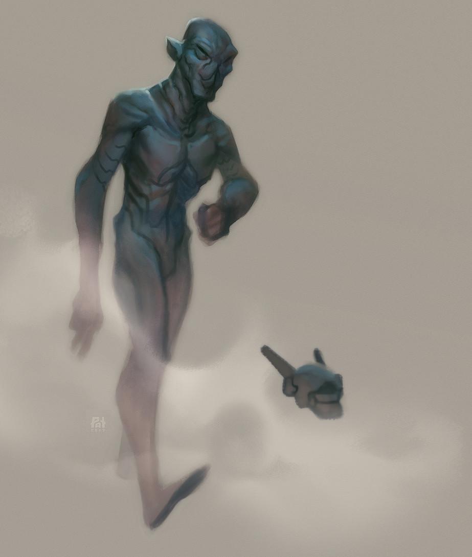 Patri balanovsky alien walk sketch