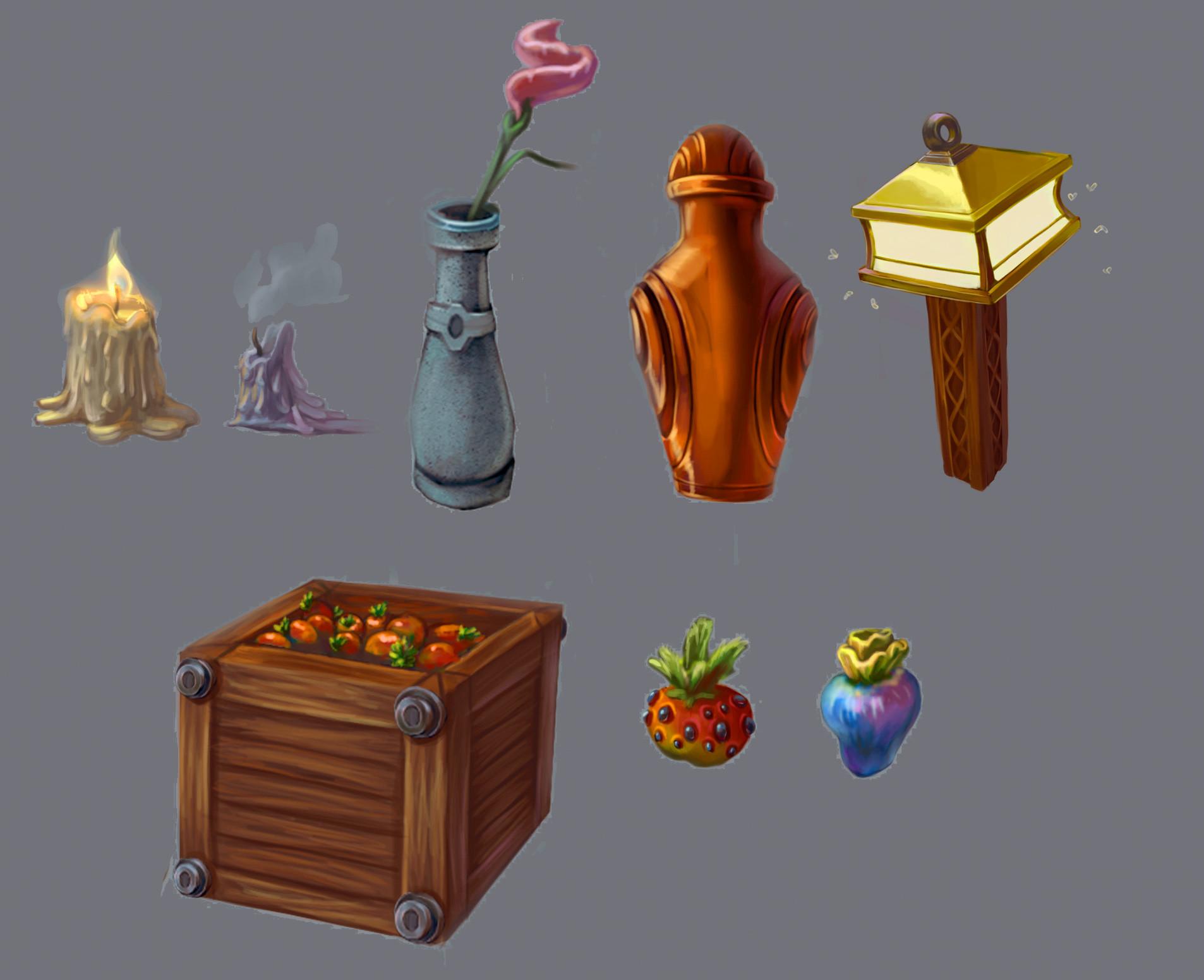 various assets