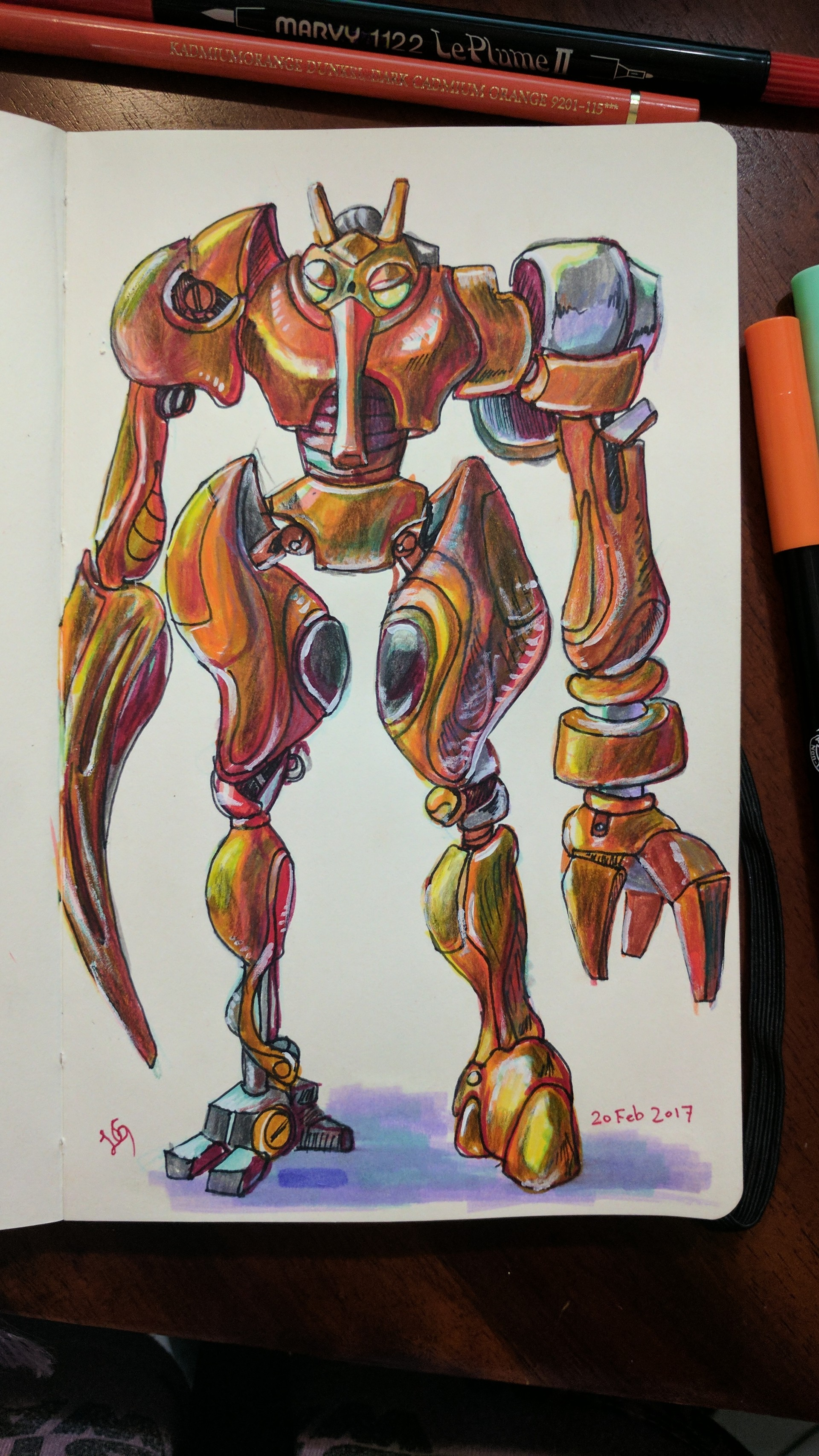 Precursor Robot