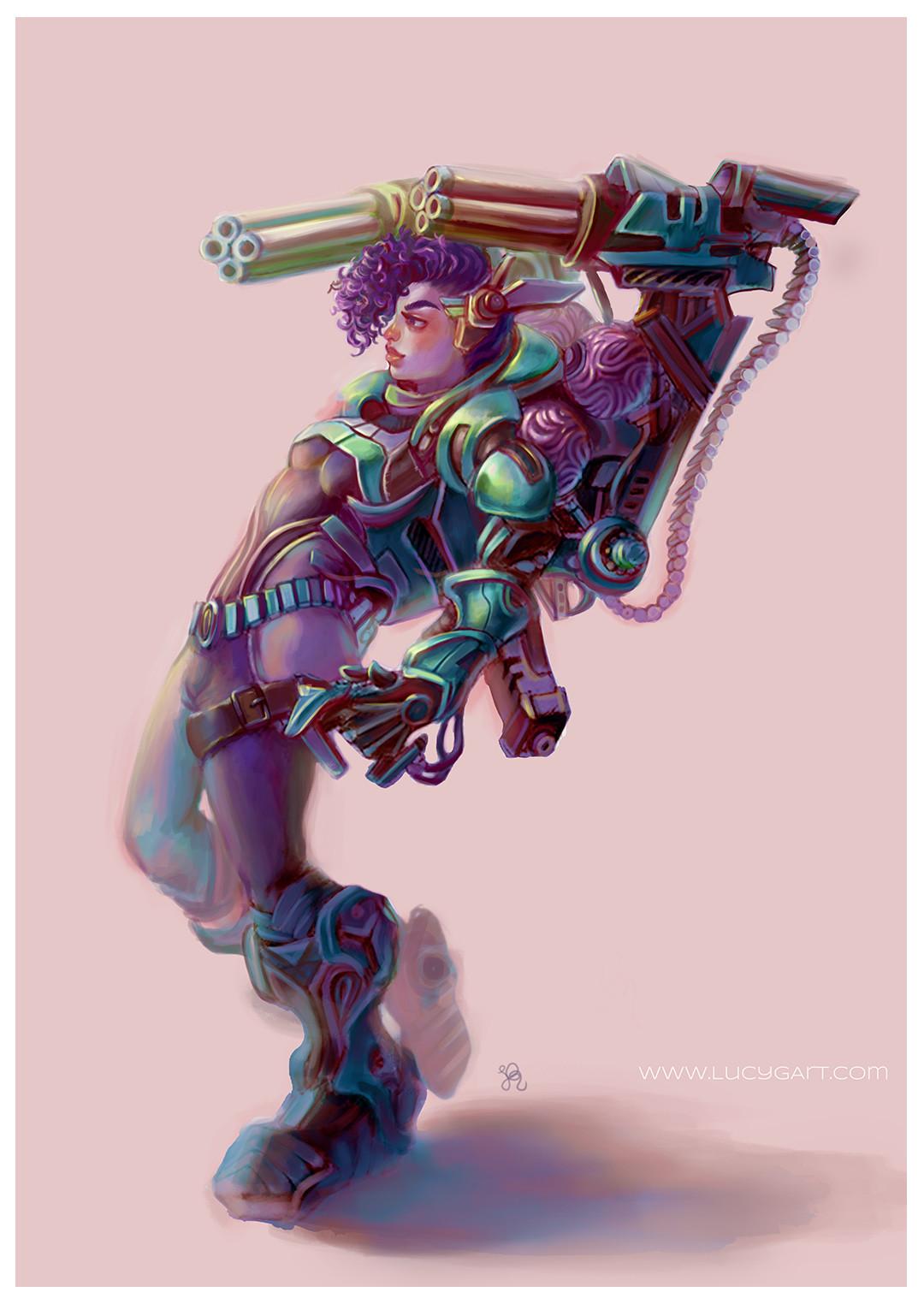 Minigun Soldier