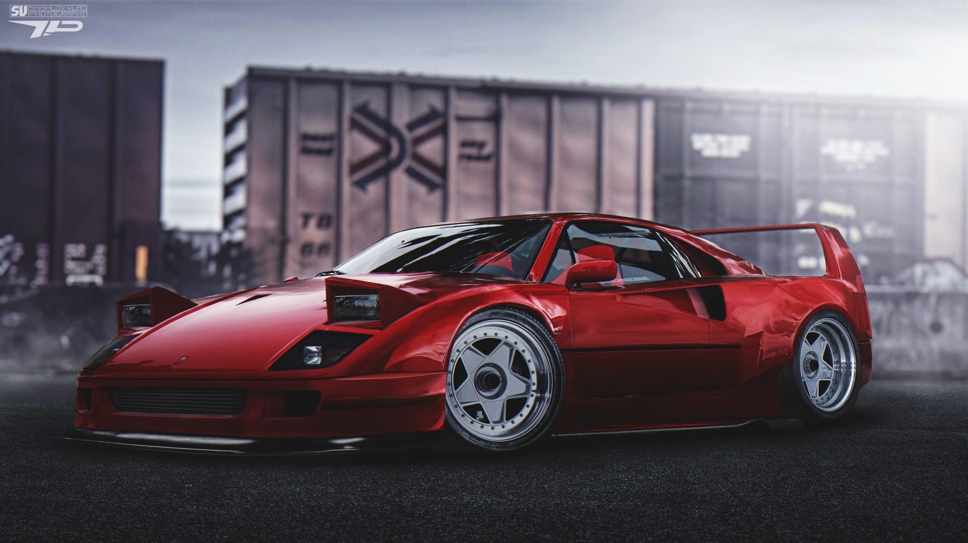 Draft Sajen Virtual Tuning Legends 90s Ferrari F40