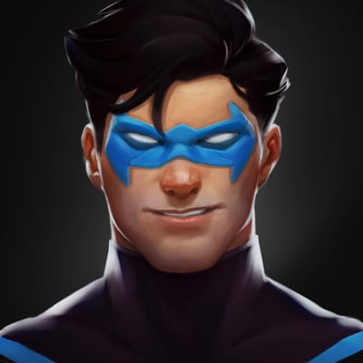 Corey smith nightwing artstation