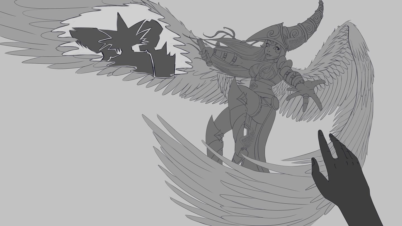 Oscar guerrero valkyria sketch