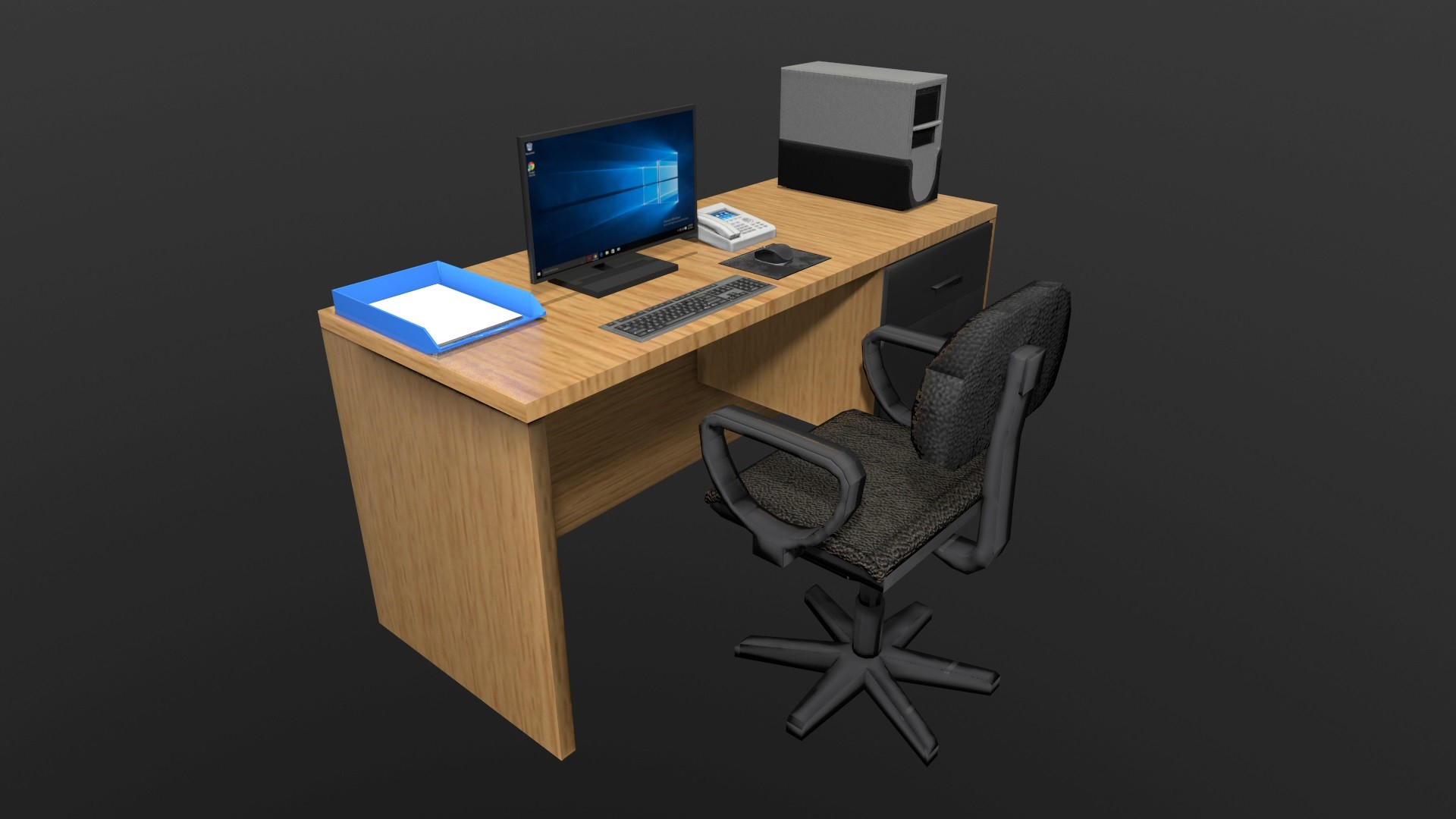 Incubator Office Desk 02