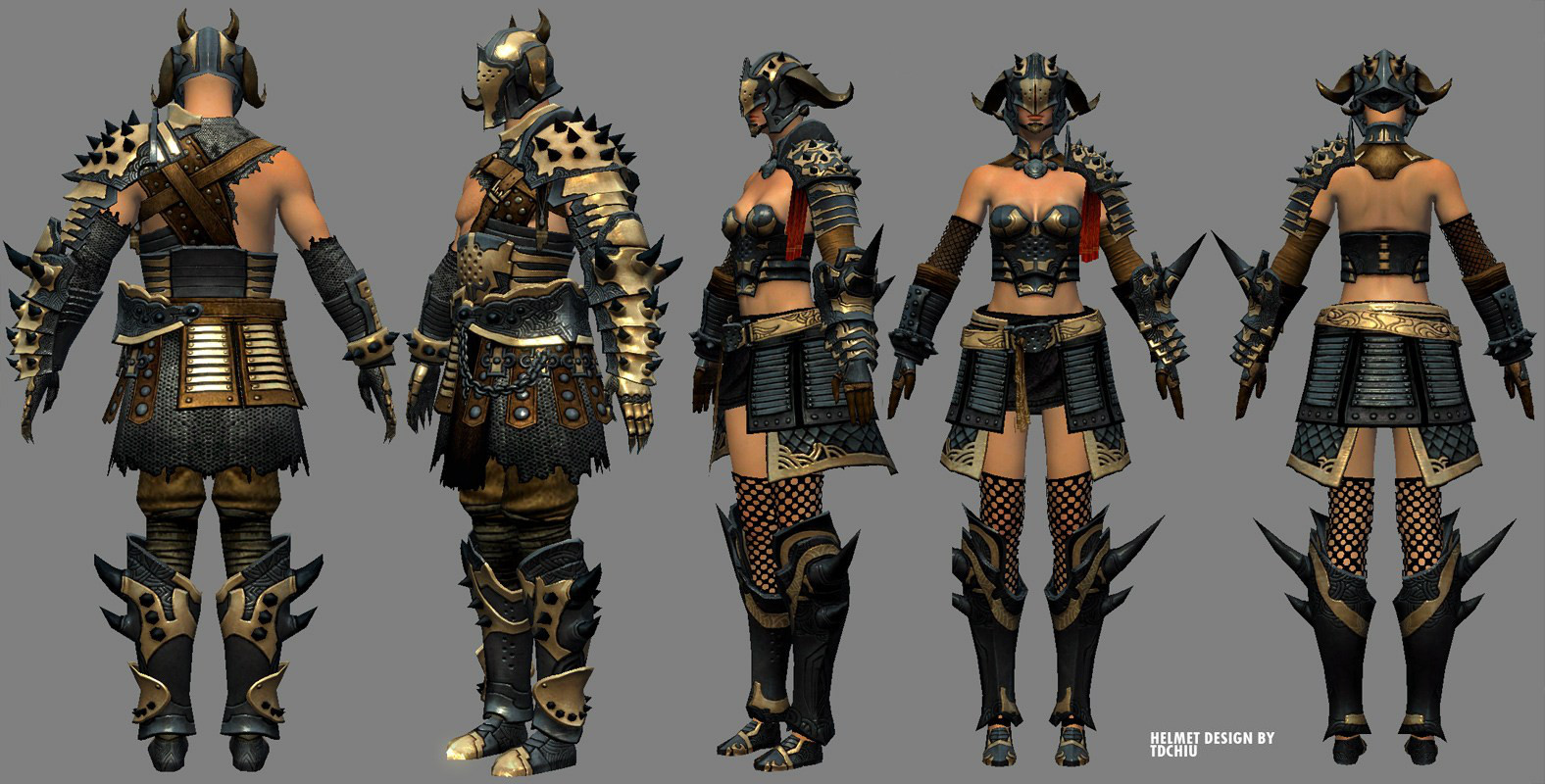 T d chiu customizationarmor blacknightmnf