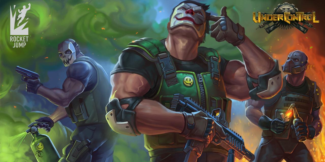 Control — Mercenaries, RJ Games