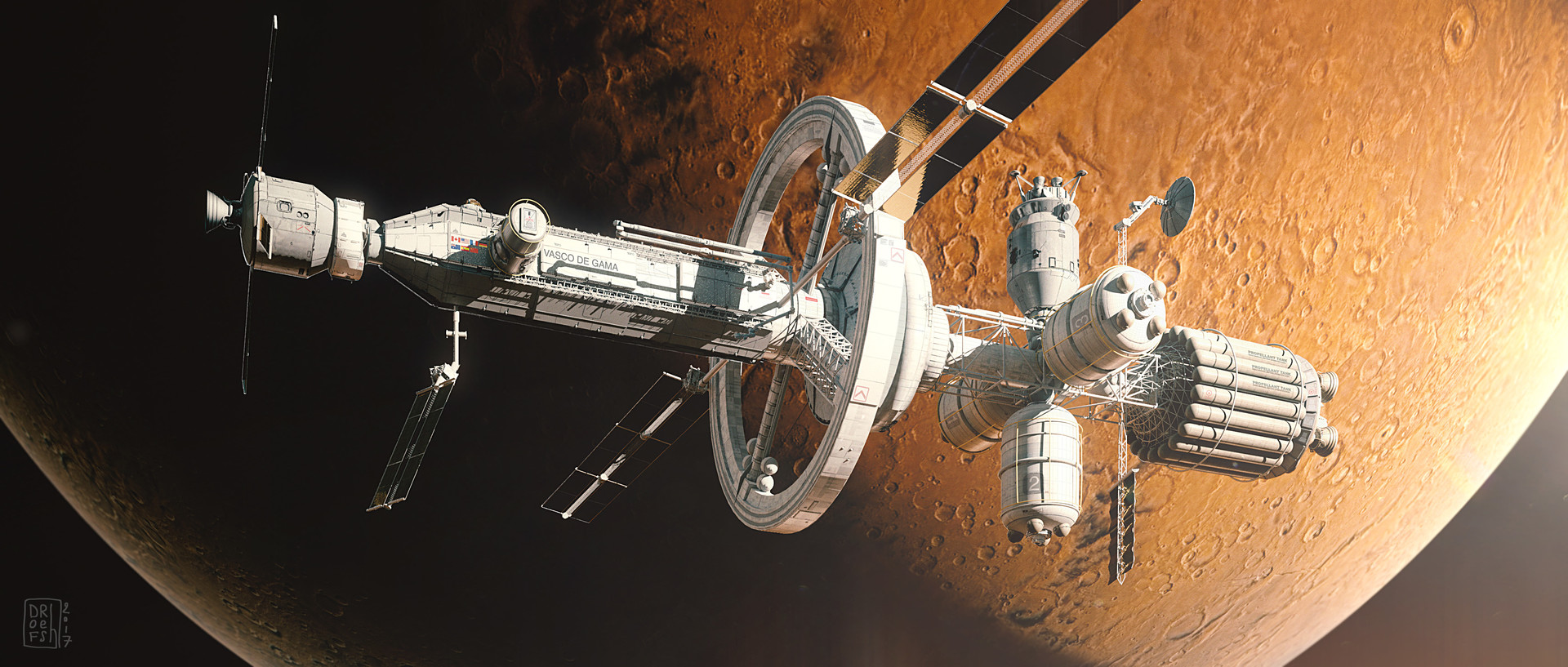Dofresh missionmars spacehip overmars