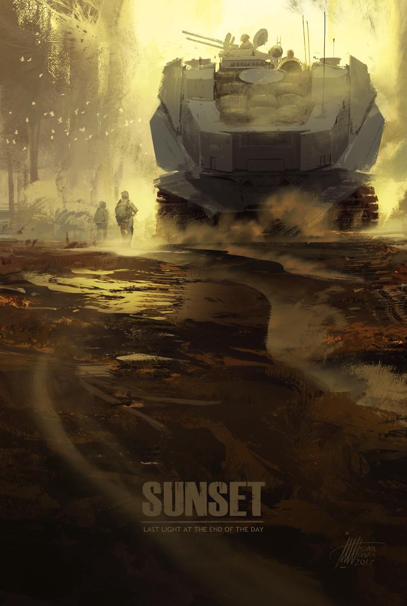 Sina pakzx kasra sunset riding to the deep yellow