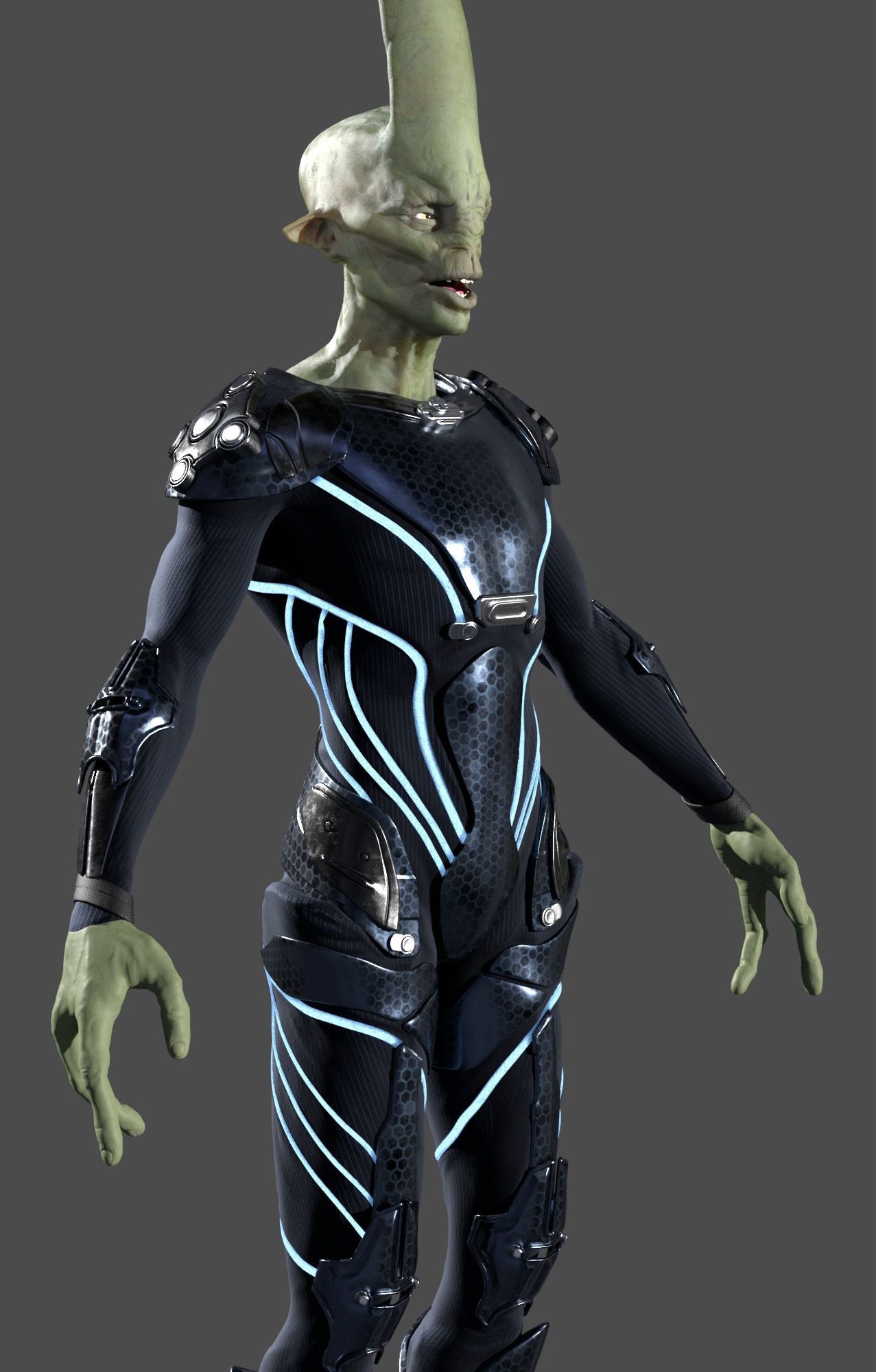 Dominik liscak alien lookdev 010