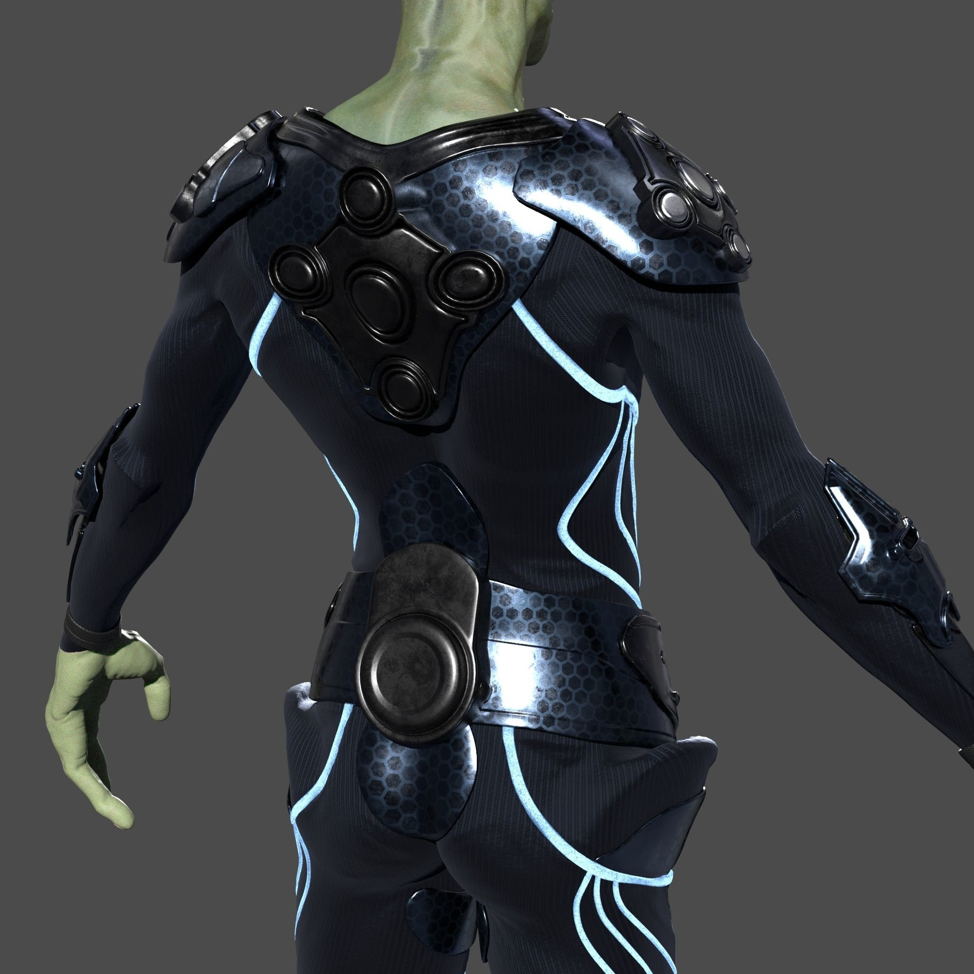 Dominik liscak alien lookdev 013