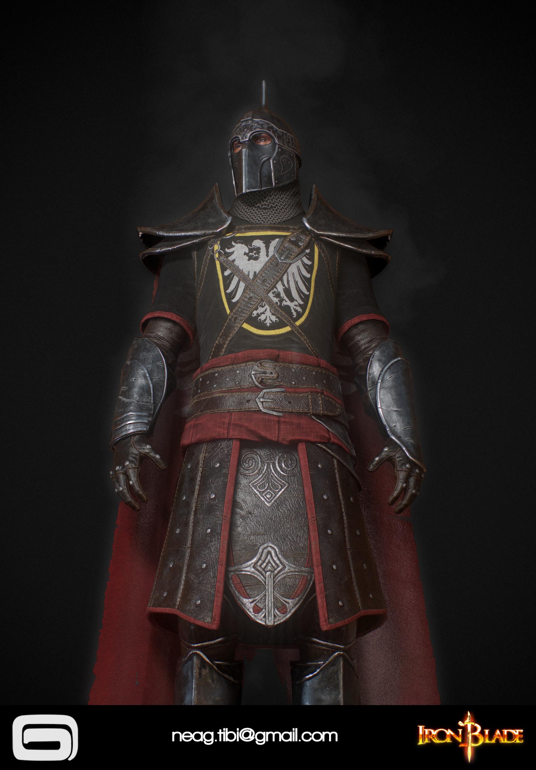 Tibi neag tibi neag iron blade mc armor 04b low poly 07