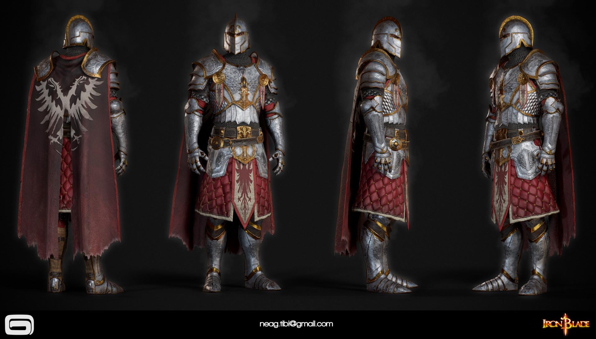 Tibi neag tibi neag iron blade mc armor 06c low poly resize