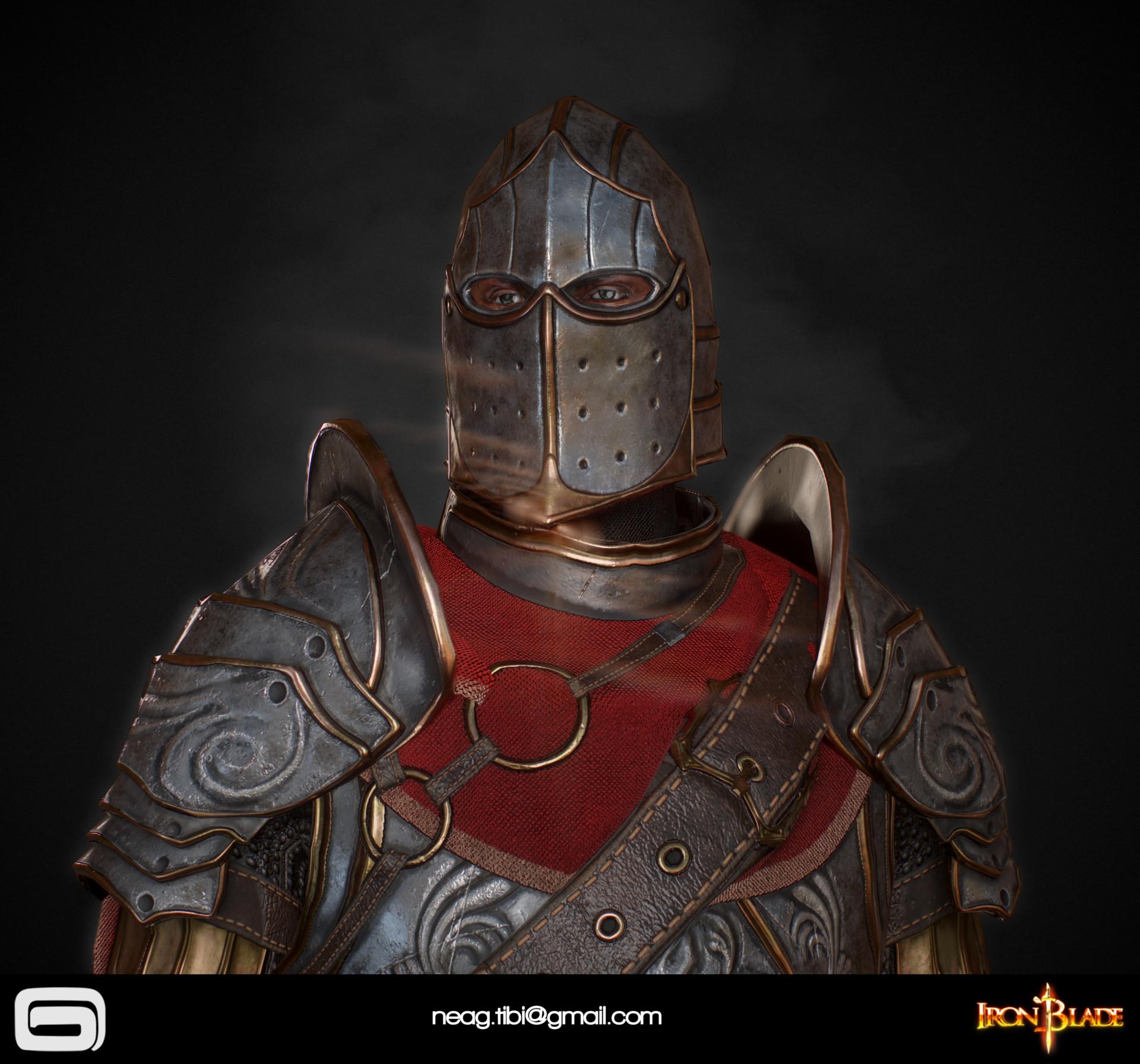 Tibi neag tibi neag iron blade mc armor 02c low poly 04
