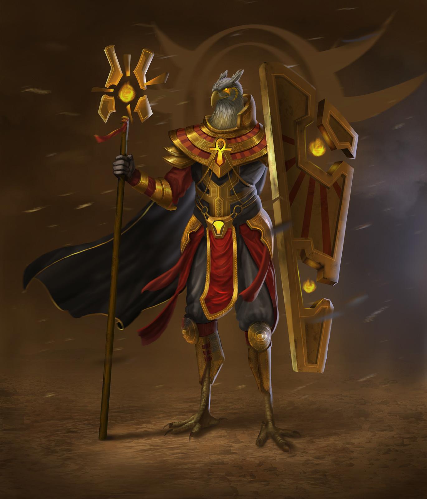 Egyptian God Character Design