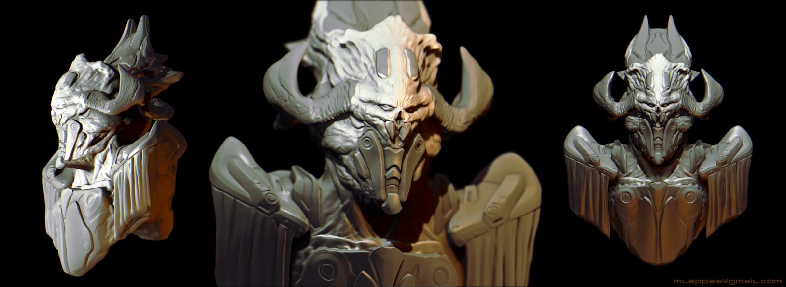 Alien Commander 3D concept