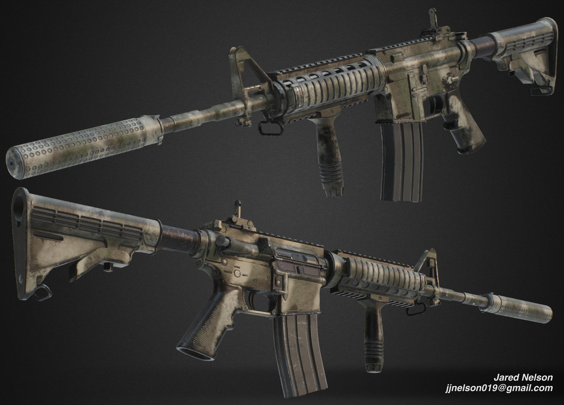 ArtStation - Colt M4 Carbine, Jared Nelson