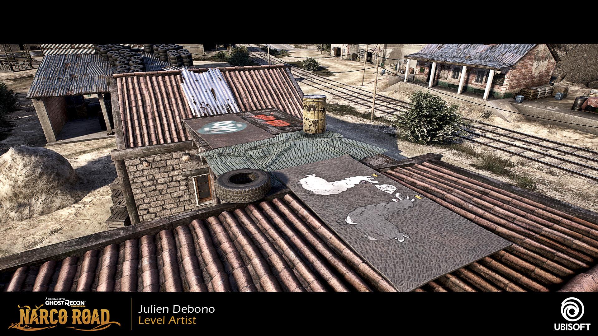 Julien Debono Tom Clancy S Ghost Recon Wildlands Narco Road