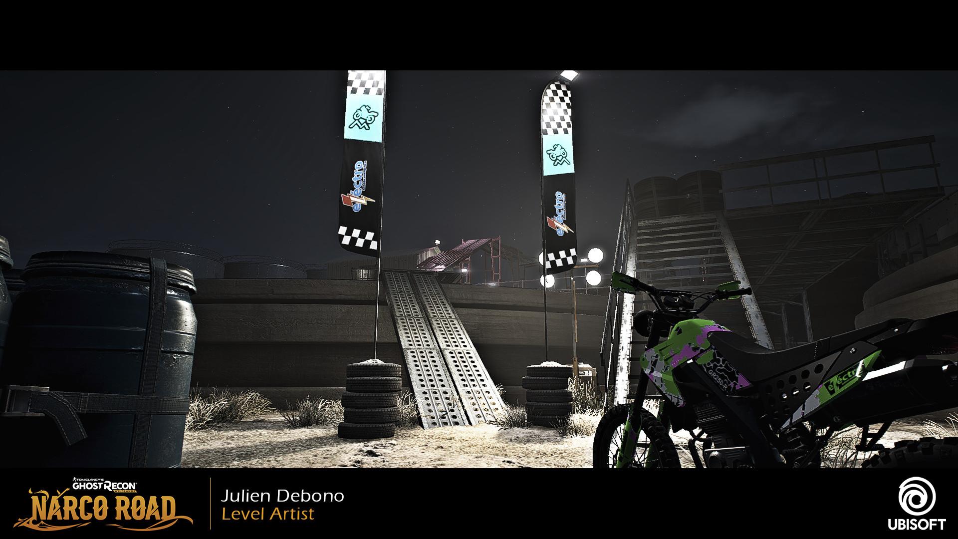 Julien debono sm02trial02 start night