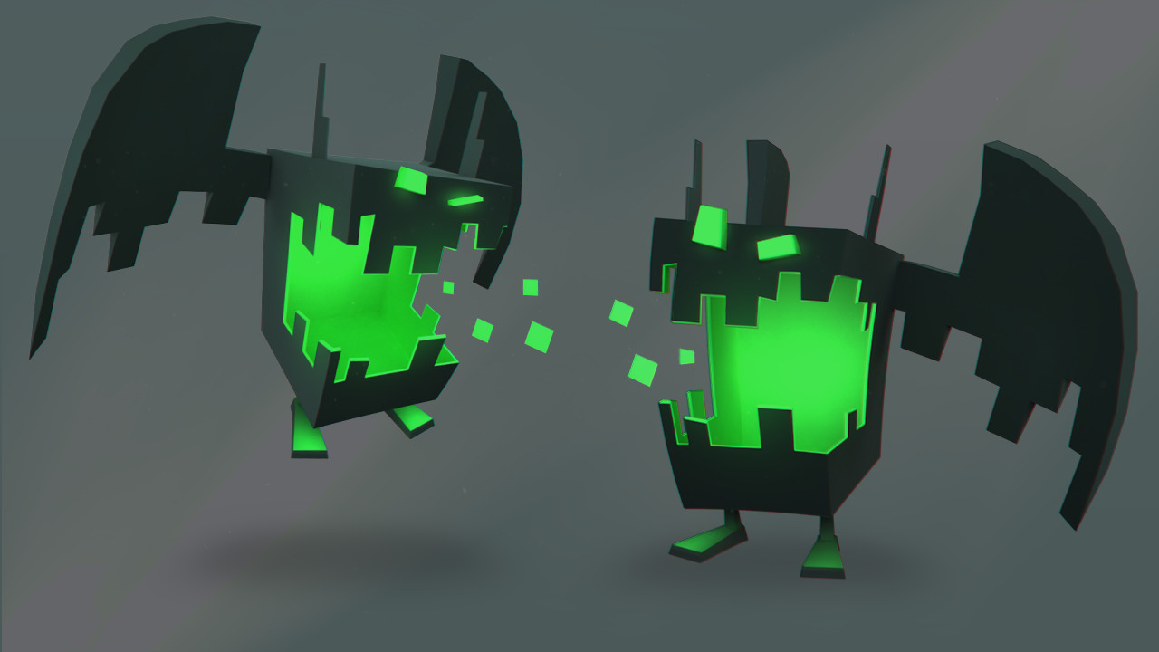 Retro 3D - 2nd Character