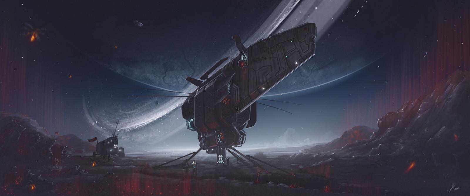 """Spacecraft """"Bumblebee"""""""