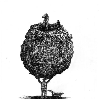 Roch marcorelles nubian tryptique vignette 3