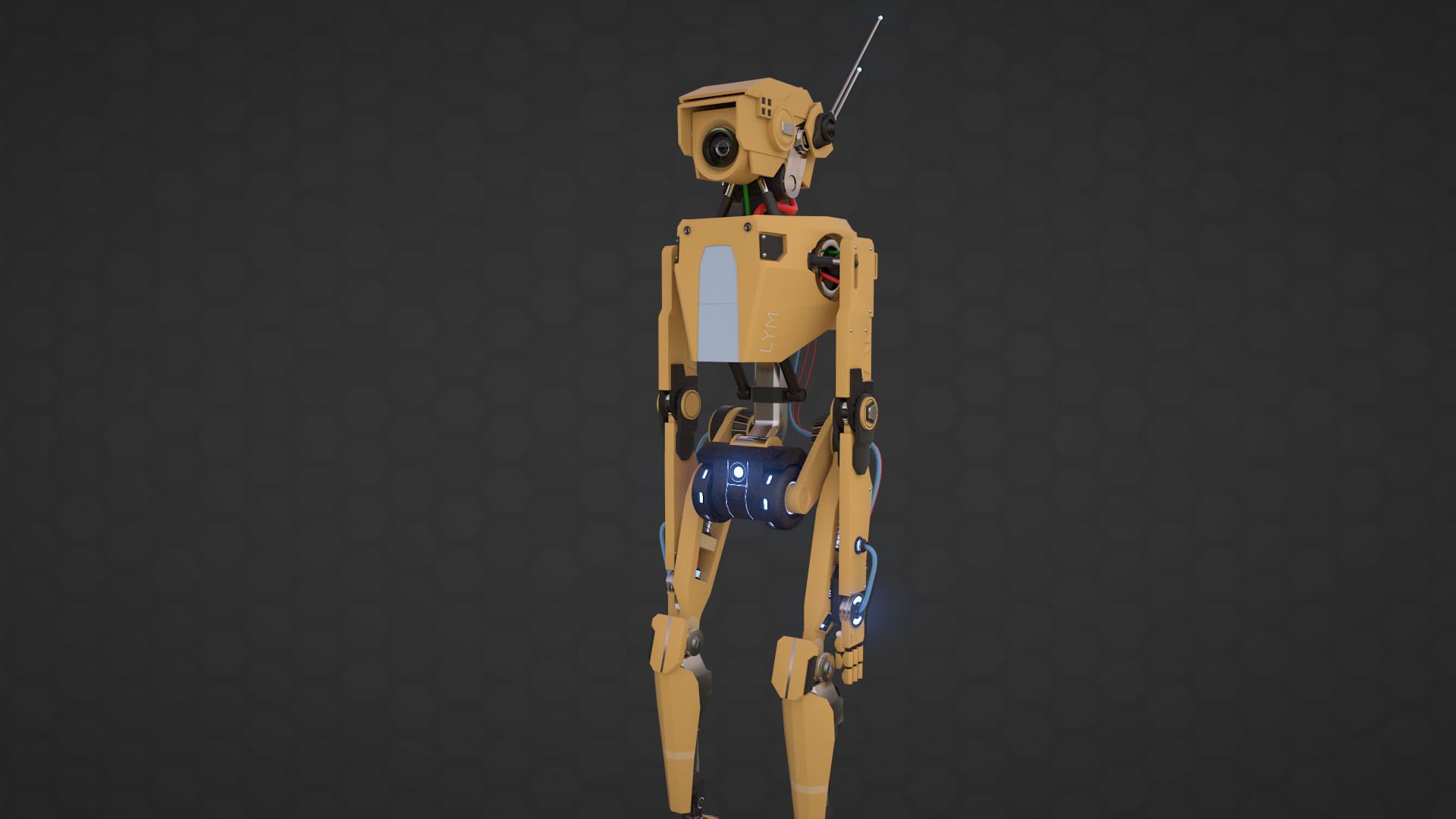 Ants aare alamaa ants aare alamaa robot render 03