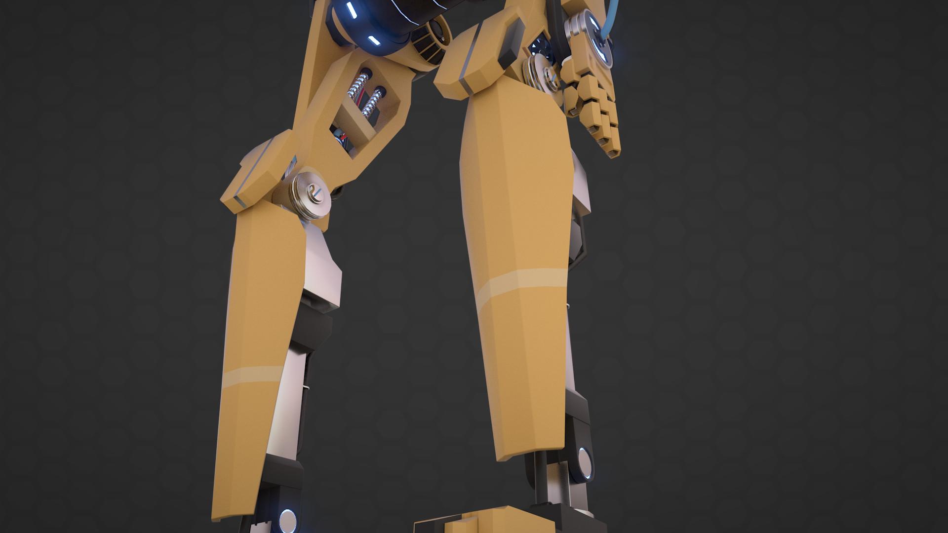 Ants aare alamaa ants aare alamaa robot render 04