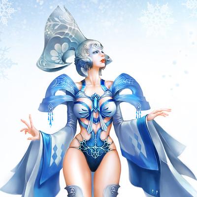 Hwewon song snowqueen s