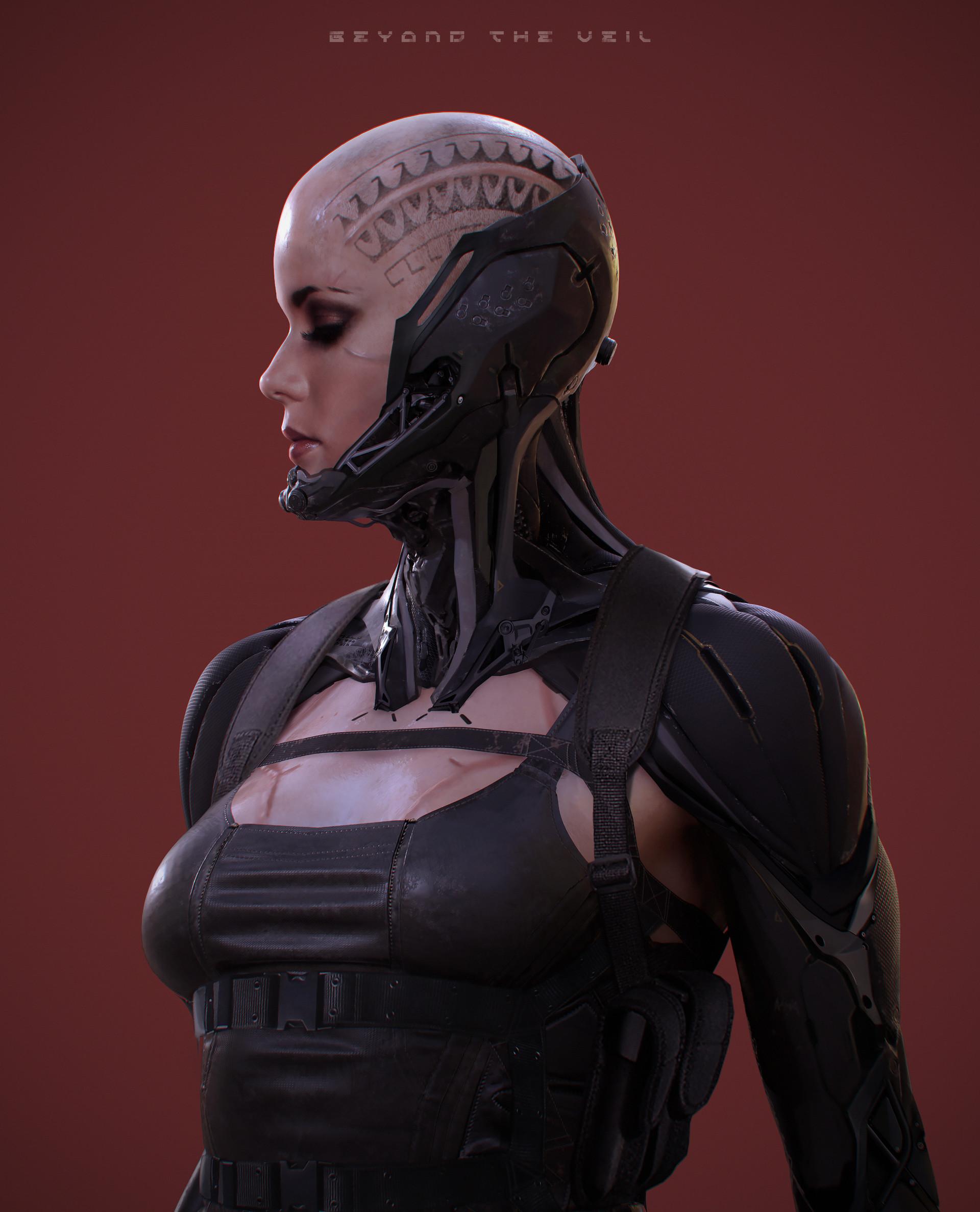Soufiane idrassi sci fi girl copy