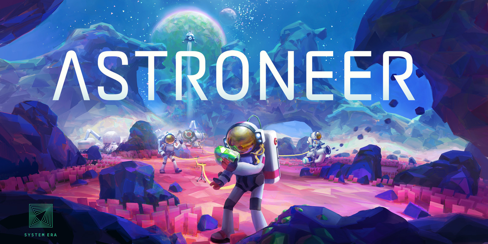 Astroneer Promotional art