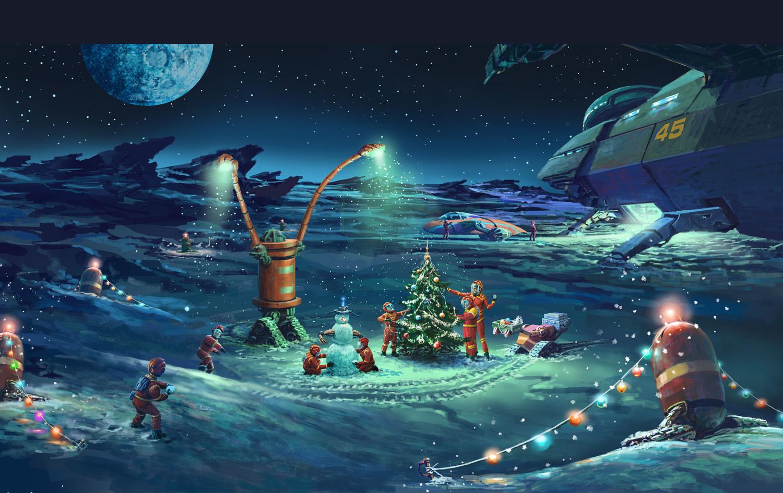 Поздравление с новым годом инопланетяне