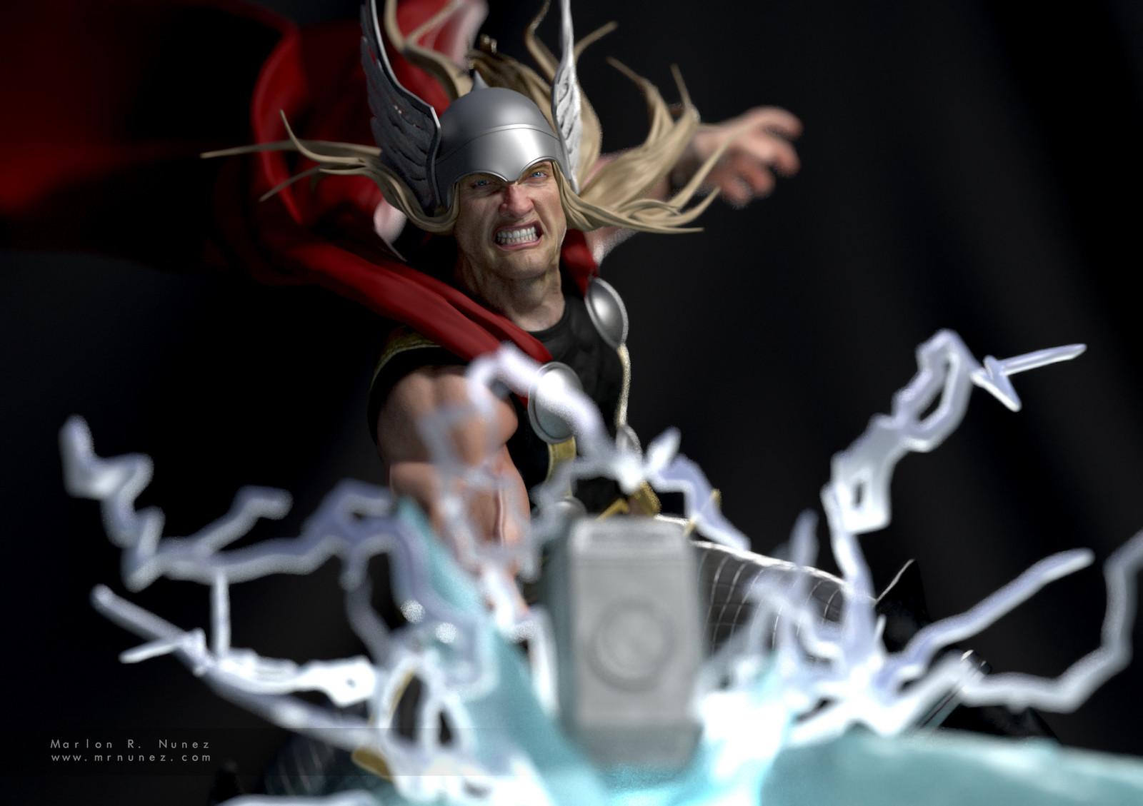 "Thor, the ""worthy"" (3D print)"