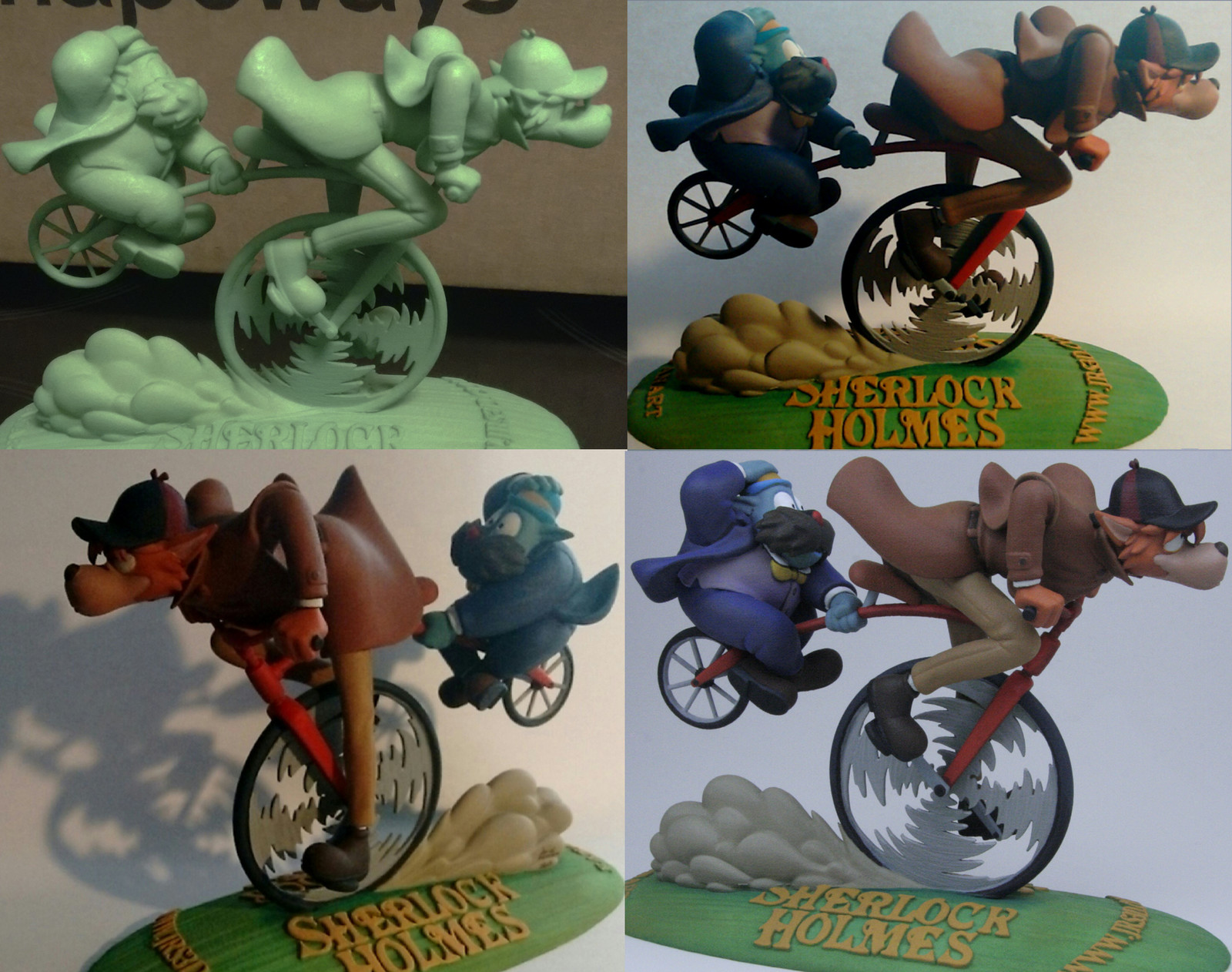 3D print in Shapeways and painted by David Romero