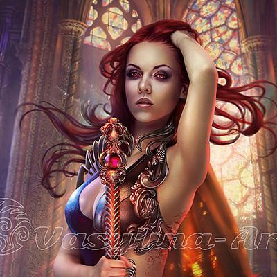 Vasilyna holod vampire warrior da