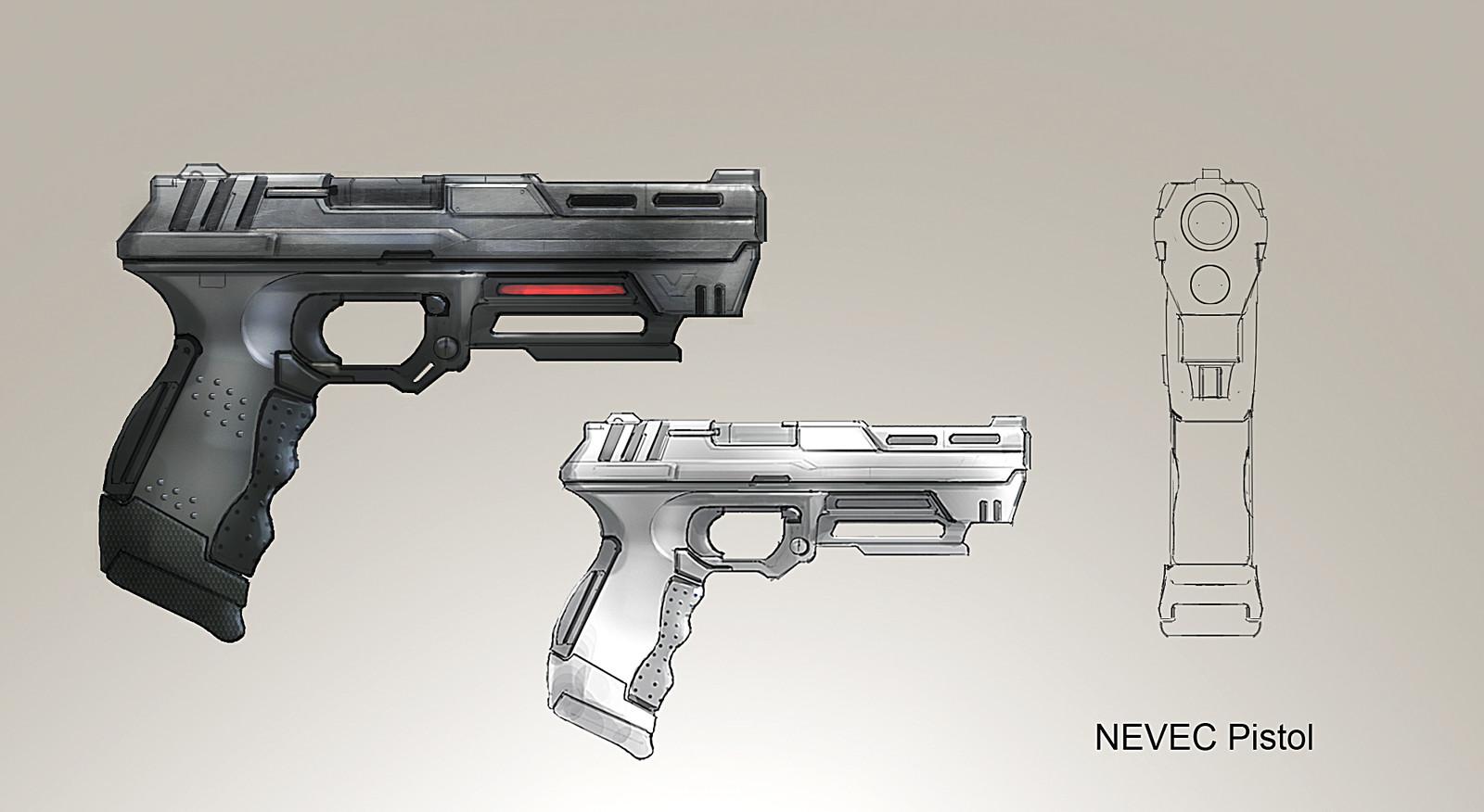 NEVEC pistol