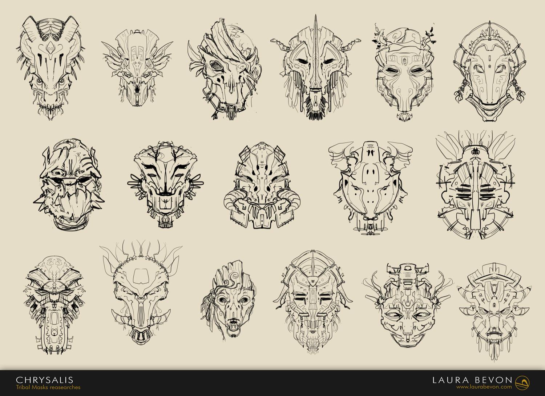Chrysalis - Tribal Mask